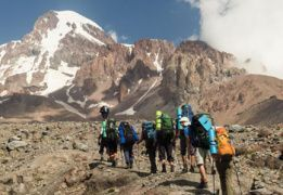 Восхождение на Казбек (5033 м)