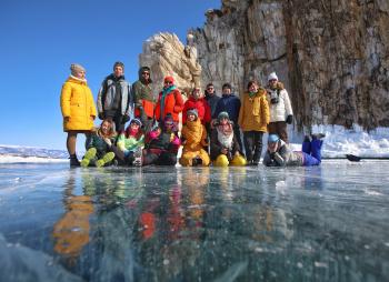 Байкальский лёд - молодежный комфорт-тур