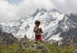 По высокогорным тропам Безенги с детьми