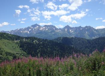 Спортивный поход 2 категории сложности по Западному Кавказу
