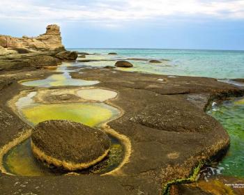Песок и скалы Мангистау. Поход на байдарках по Каспию в Казахстане ( разведка)