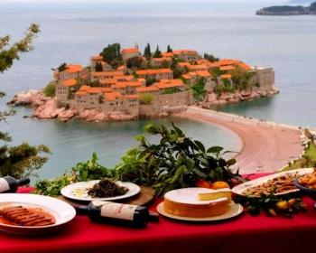 Вкусный тур по Черногории