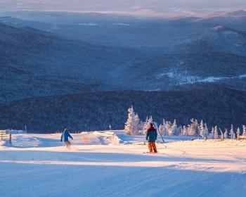 Шерегеш. Обучение катанию на горных лыжах