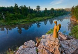 Оленьи ручьи. Малый экскурсионный маршрут + Карстовый мост