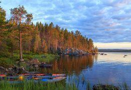 Финляндия на байдарках: Лапландия, озеро Инари. Разведка