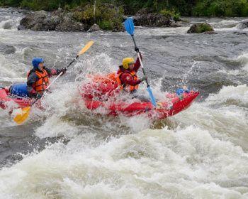 Сплав по реке Умба на байдарках