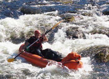 Сплав по реке Тумча на байдарках