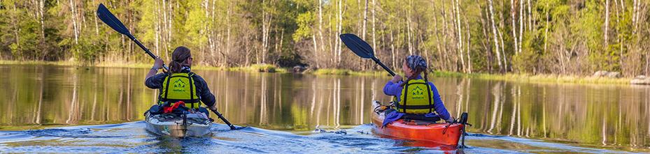 Прогулки и водные походы на морских каяках