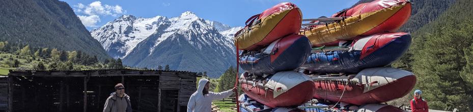Сплавы по горным рекам Кавказа