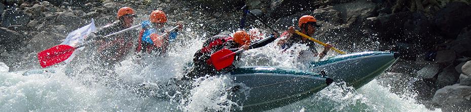Водные походы — сплавы на катамаранах