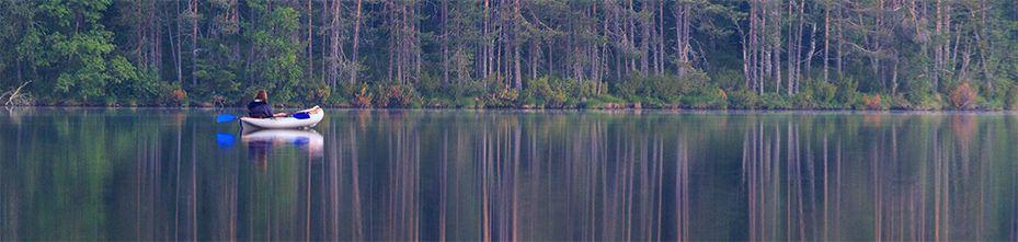 Водные походы на байдарках в Финляндии
