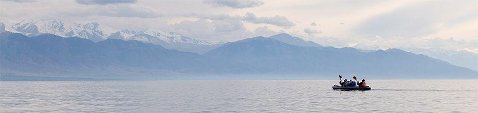 Водные походы на байдарках в Киргизии